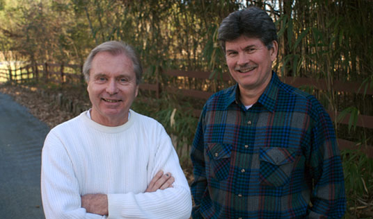 TOM HOWLETT and RICK ALLEN, owners of Synergy Building Company, Inc.